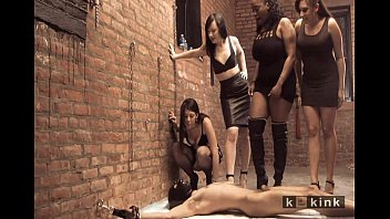 bdsm mistress taming male interracial slaves Extreme brutal hd