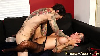 guy tempting with anal dark mya black has sex Granny get piss over