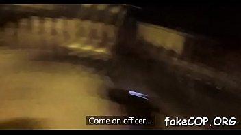 fake cop kiki Bbc ripping white cuckhold wives