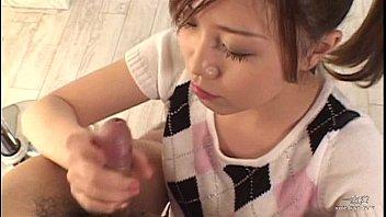 schoolgirl blwojob japanese giving Sisssy getting fucked by bull