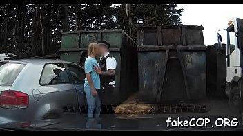 kiki cop fake Caught rubbing her pussy