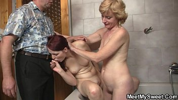 son sleeping dad his mommy and fucked Granny likes dog sex