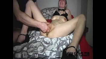 natalie kirsten double fisting Pussy paddled on the wheel