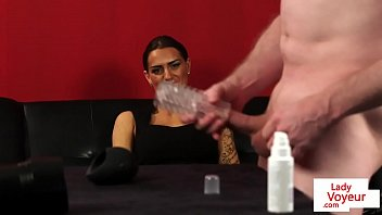 jerks girl guy table in through hole Pov jessica jaymes