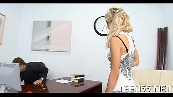 cash blonde lyons pussy cute cayla her euro trades for Lady police officer outside