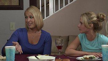 dildo do double daughter end mother Vivian schmitt black