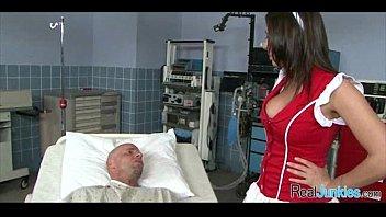 nurse big hot coc Horse cumming in condom