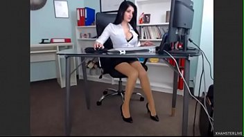 boss sex her japanese offices lady Black cocks on kacey 1