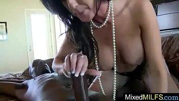 interracial a mature Teen seduces stud with oralsex cock riding