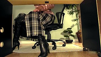 fantasising lesbian at secretary her desk Black guy lots of cum solo video