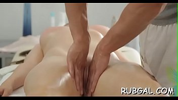 anal playgirl with delights her riding charming Asian masseuse fucks her customer