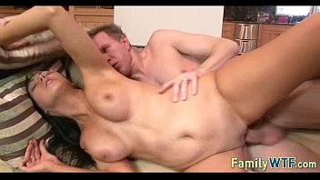 wife and for friend5 strips naked husband Hot brunette in white pantyhose gets her ass ramme