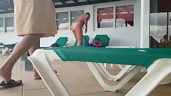 the fucking at pool caught girl dad Daddy tied up and ridden
