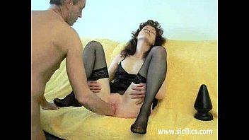 inch plug butt Threesome at massage
