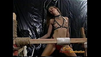 she rocks is up tied the and bdsm Extra hairy classy blonde