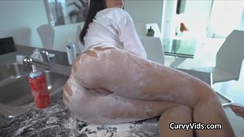 the fucked gets thor with might goddess curvy of Italian amateur pompino