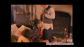 girl fucked slutty gets guys by two indian horny Posture collar blowjob